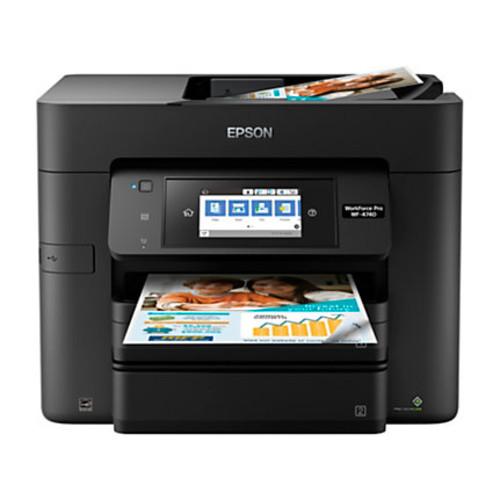 Epson WorkForce Pro WF-4740 Wireless All-In-One Printer, Copier, Scanner, Fax