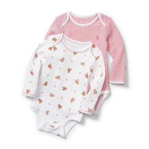 Short Sleeve Bodysuits (2-Pack) (Baby Boys)