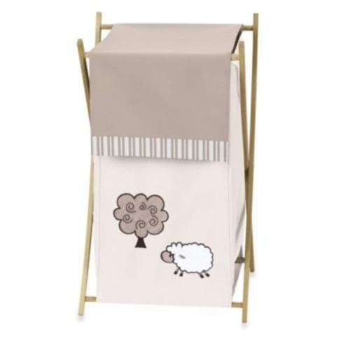 Sweet Jojo Designs Little Lamb Laundry Hamper