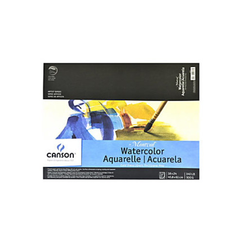 Canson Montval Watercolor Paper, 18