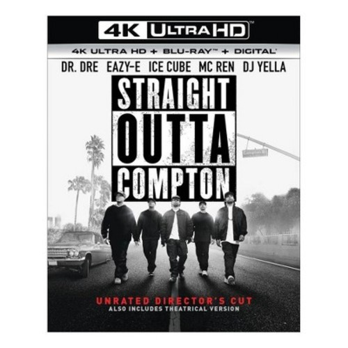 Straight Outta Compton (4K/UHD + Blu-ray + Digital)