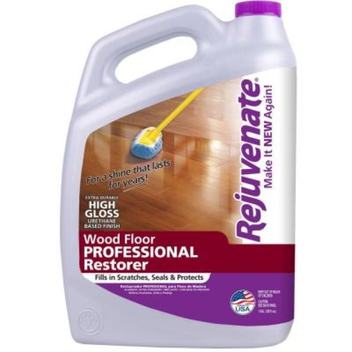 Rejuvenate 128 oz. Professional High Gloss Wood Floor Restorer