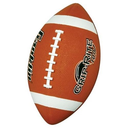 Franklin Sports Grip-Rite 100 Rubber Football Junior - Orange
