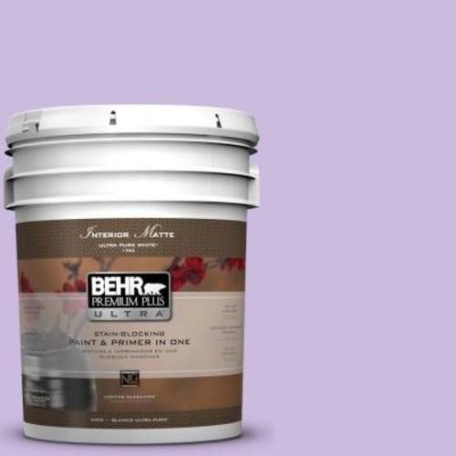 BEHR Premium Plus Ultra 5 gal. #P570-2 Confetti Matte Interior Paint