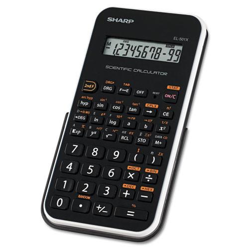 Sharp EL501XBWH Engineering/Scientific Calculator [White]