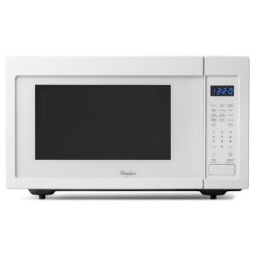 Whirlpool 1.6 cu. ft. Countertop Microwave in White, Built-In Capable with Sensor Cooking