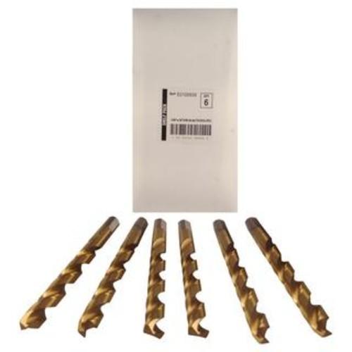 Disston Tool BLU-MOL 31/64 inch Titanium Drill Bits (Pack of 6)