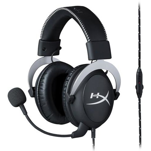 HyperX - Cloud Pro Wired Gaming Headset - Silver