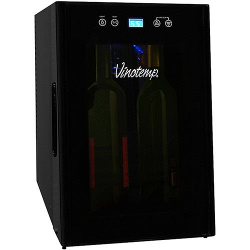 Element by Vinotemp VT-8TEDTS-ID Thermoelectric 8-bottle Wine Cooler