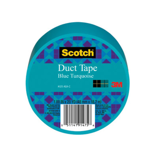 Scotch Brand Duct Tape, Assorted Colors [Tape Roll Size : 1.88