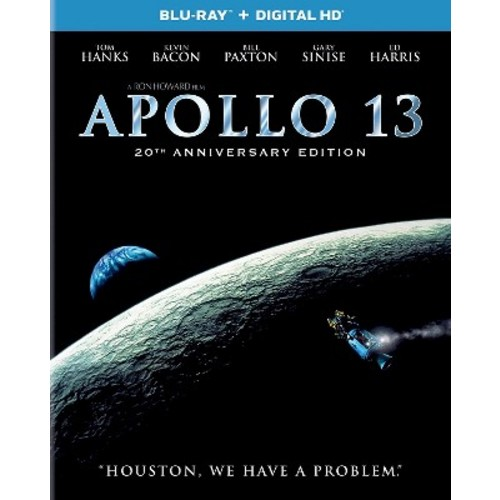 Apollo 13 [20th Anniversary Edition] [Includes Digital Copy] [UltraViolet] [Blu-ray] [1995]