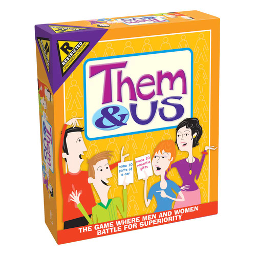 Outset Media Them & Us Couples Party Game OMCHT781