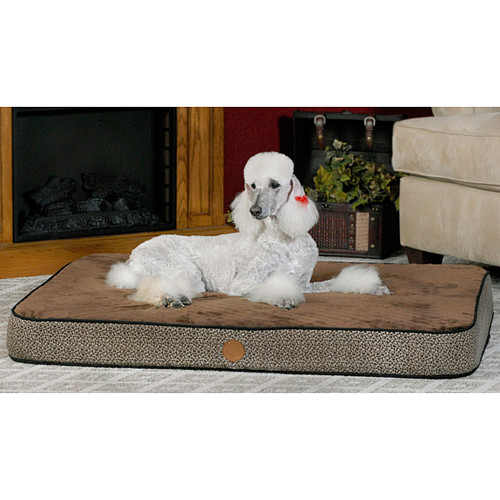 K&H Medium Paw Bone Superior Orthopedic Bed [option : 4611 Orthopedic Bed Superior MD Mocha Paw Bone 30x40]