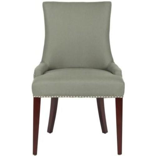Safavieh Becca Sea mist Linen Blend Dining Chair