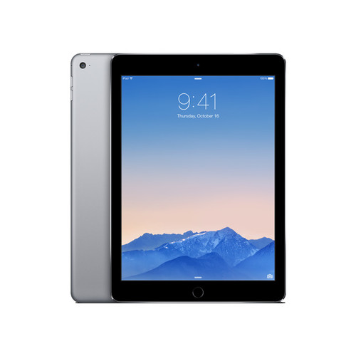 Apple iPad Air 2 MGTX2LL/A A8X chip with 64-bit architecture and M8 motion coprocessor 1.50 GHz 1 GB Memory 128 GB Flash Storage 9.7