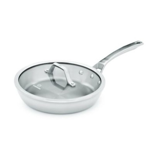 Calphalon Signature Stainless Steel 10-Inch Covered Skillet Pan