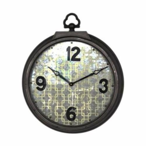 Wilco Home ''Interlace'' Metal Wall Clock