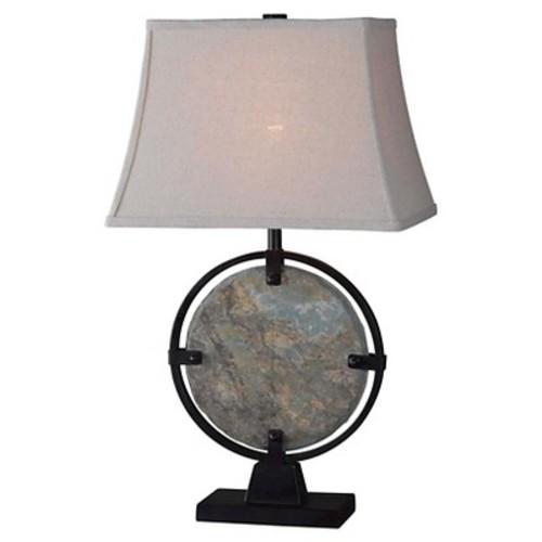 Kenroy Home Table Lamp - Slate