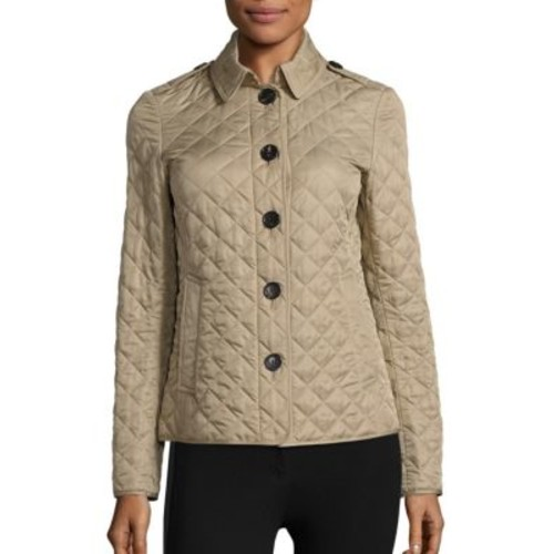 BURBERRY Ashurst Quilted Canvas Coat