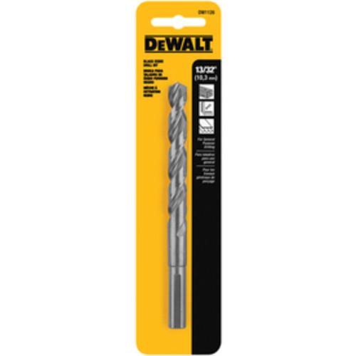 DEWALT 13/32-in Black Oxide Twist Drill Bit