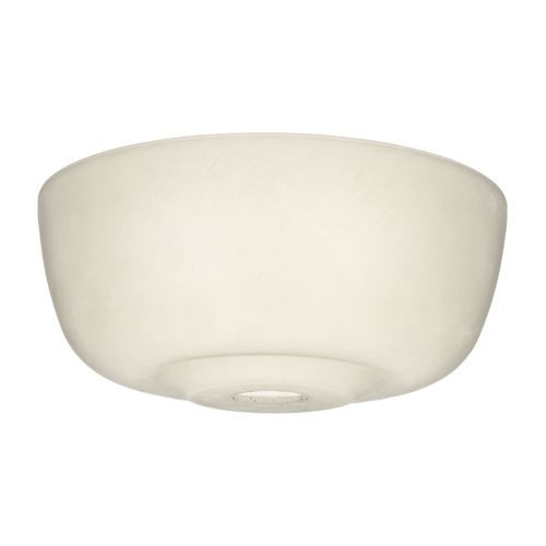 Casablanca Fan Company 99059 Transitional Glass Bowl for 99023, Cased White