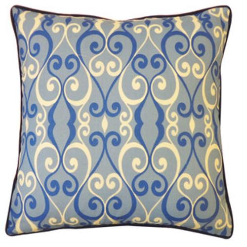 Iron Blue Pillow