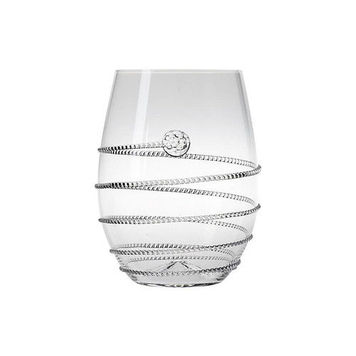 Amalia Stemless White-Wine Glass, Clear
