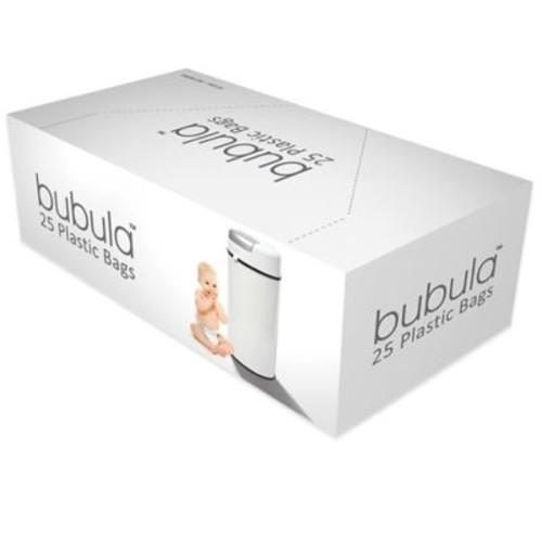 Bubula 25-Count Plastic Diaper Pail Refill Bags