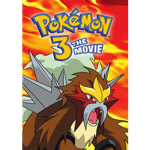 Pokemon the Movie 3: Spell of the Unknown DVD