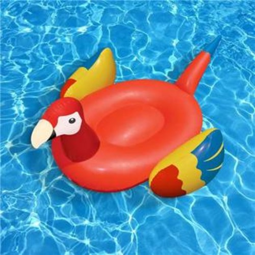 Swimline Giant Inflatable Parrot Float