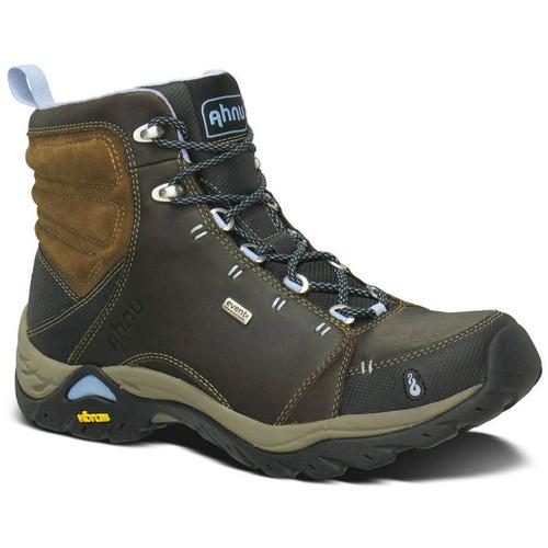 AHNU Womens Montara Leather Boots, Smokey Brown