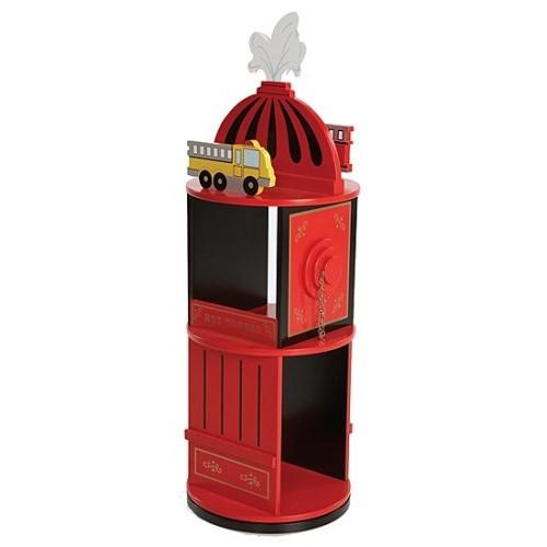 Wildkin Firefighter Revolving Bookcase [Firefighter]