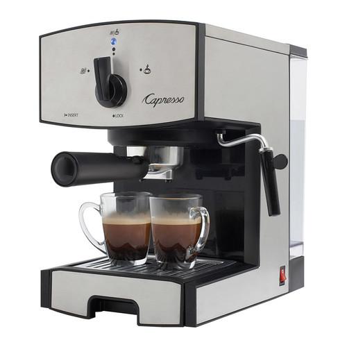 capresso 11705 - EC50 Espresso and Cappuccino Maker - Stainless-Steel/Black