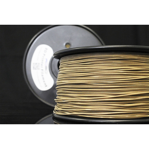ROBO 3D - 1.75mm PLA Filament 2.2 lbs. - Wood