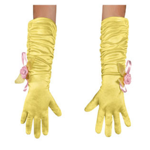 Disguise Girl's Disney Belle Beauty And The Beast Gloves
