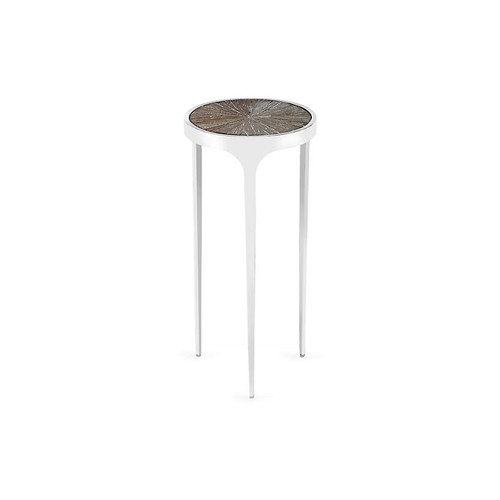 Devin Side Table, White