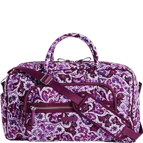 Vera Bradley Iconic Compact Weekender Travel Bag