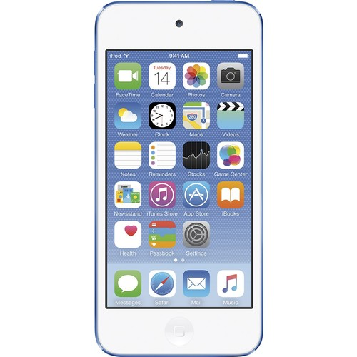 Apple iPod touch 6G 16 GB Blue Flash Portable Media Player