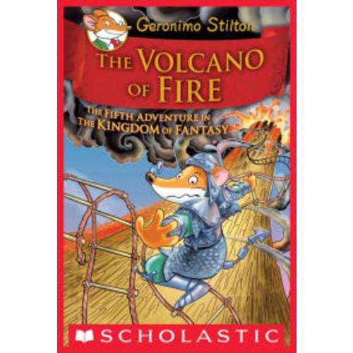 The Volcano of Fire (Geronimo Stilton: The Kingdom of Fantasy Series #5)