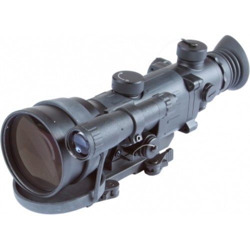 Armasight Vampire 3X Night Vision Rifle Scope, 3X 60-70 IP/mm Objective, 108mm, Illuminated Reticle, CORE Technology, Black