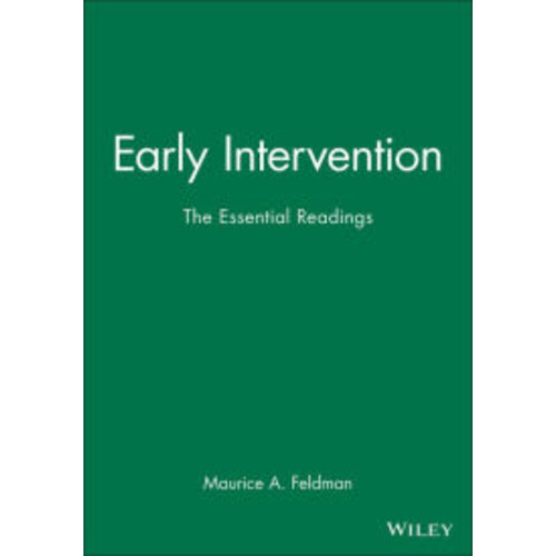 Early Intervention: The Essential Readings / Edition 1