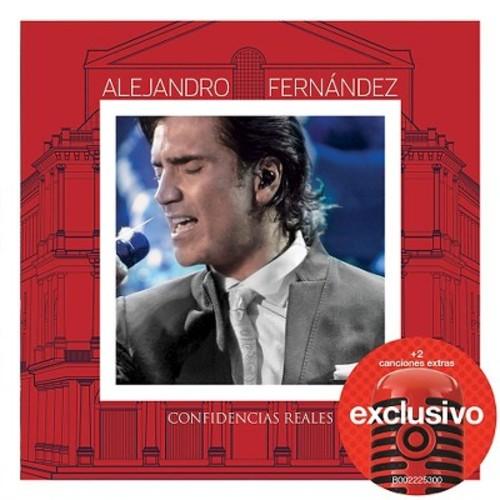 Alejandro Fernandez - Confidencias Reales (CD+DVD) - Target Exclusive