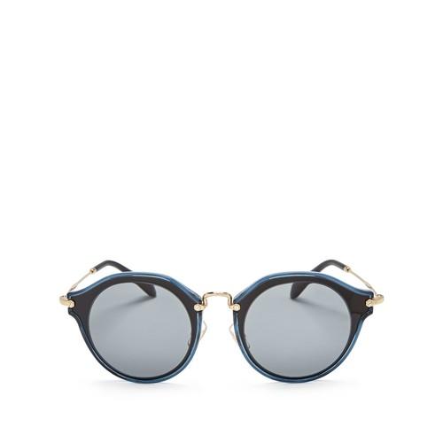 MIU MIU Round Sunglasses, 53Mm