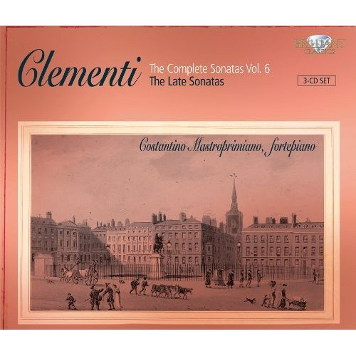Clementi:complete Sons V6 Late Sons CD (2013)