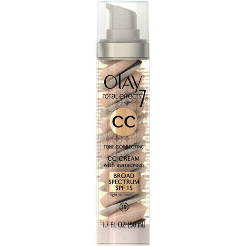 CC Cream - Total Effects Tone Correcting Moisturizer with Sunscreen Broad Spectrum SPF 15 [Light/Medium]