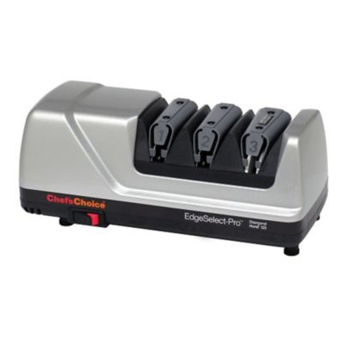 Chef's Choice EdgeSelect-Pro Diamond Hone Electric Knife Sharpener for Straight and Serrated Knives