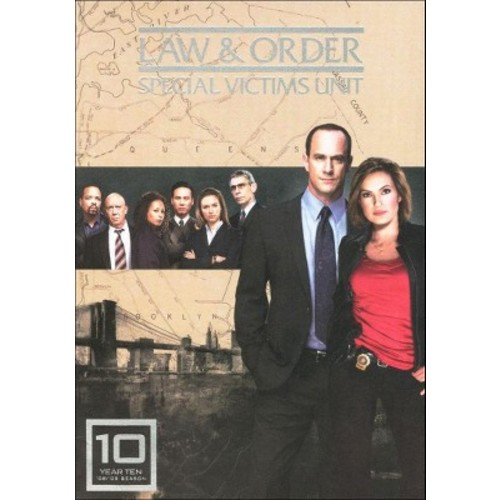 Law & Order: Special Victims Unit - Year Ten [5 Discs]