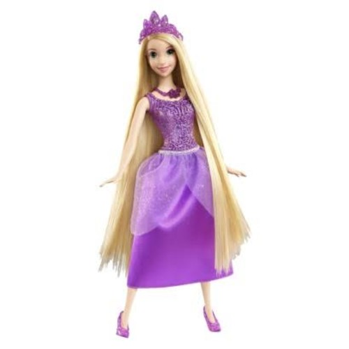 Disney Princess Sparkling Princess Rapunzel Doll