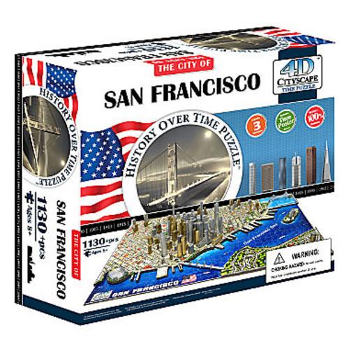 4D Cityscape Time Puzzle - San Francisco; USA