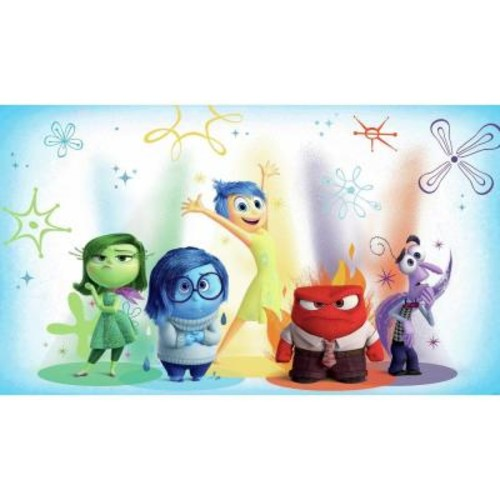 RoomMates 72 in. x 126 in. Inside Out XL Chair Rail 7-Panel Pre-Pasted Wall Mural